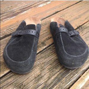 Birkenstock Suede Slip On Mules W 7 M 5 38 Shoes